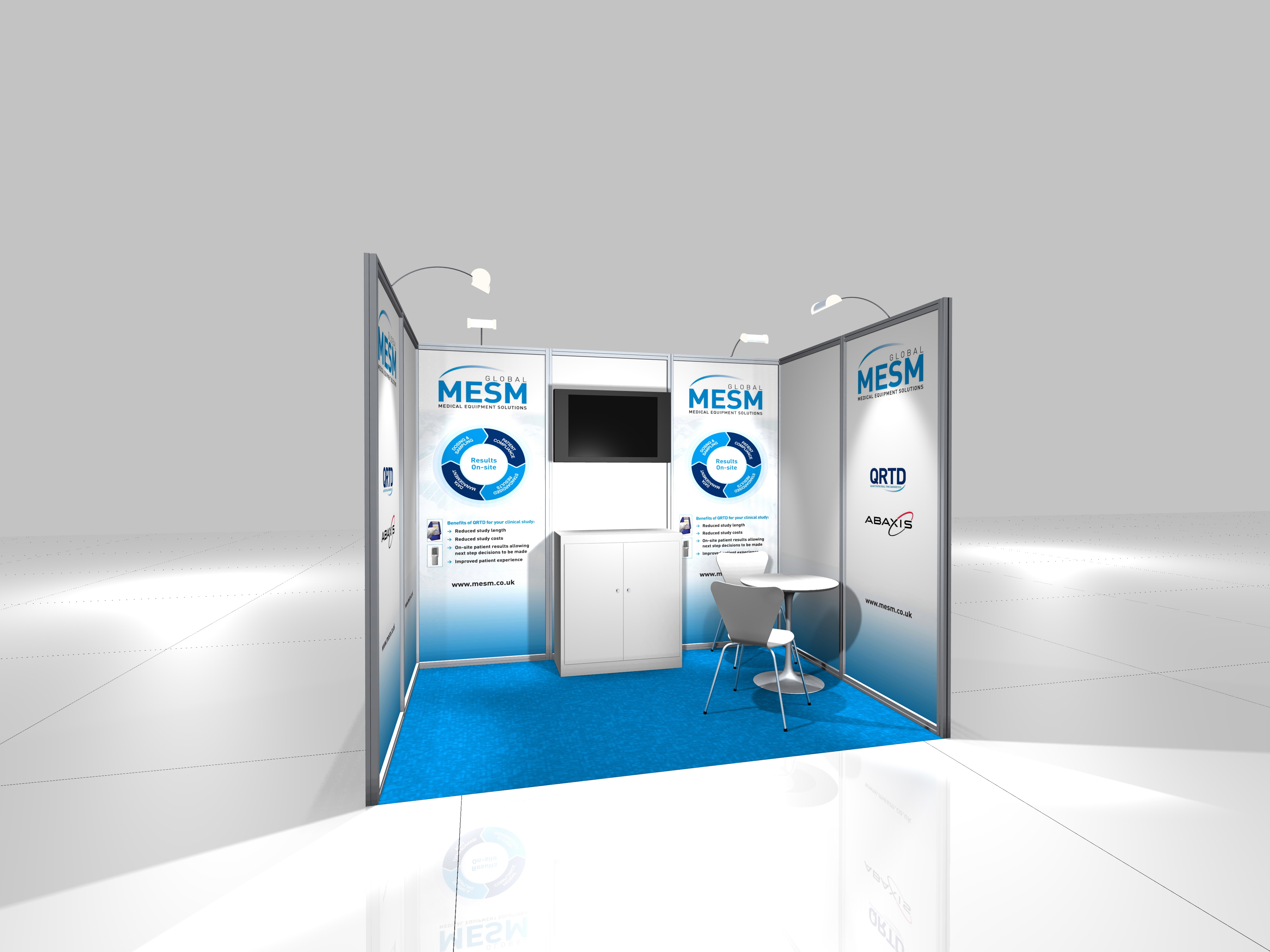 Exhibition Displays : Modular exhibition stands kj display