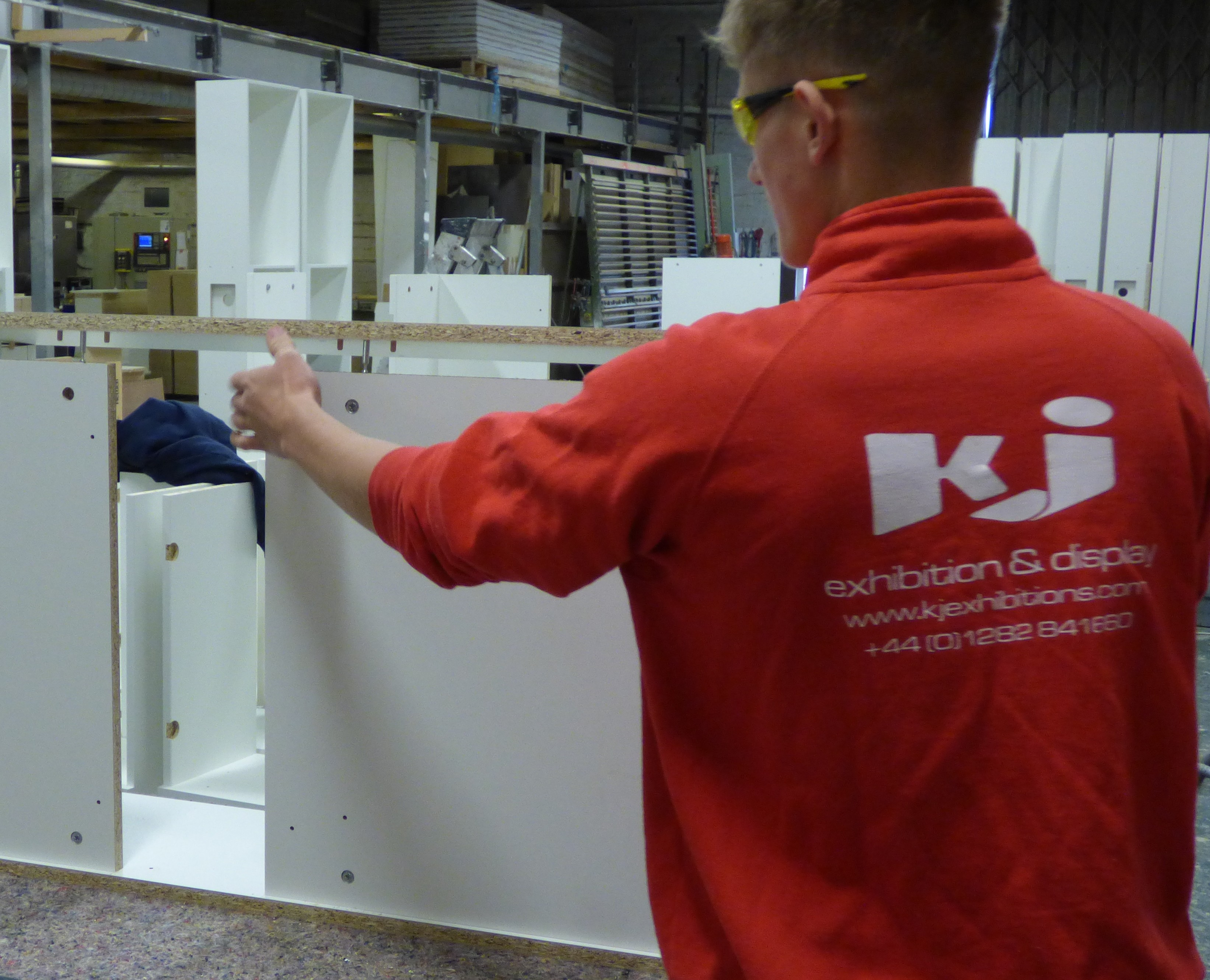 Exhibition Stand Builders North West : Cnc routing service in the north west