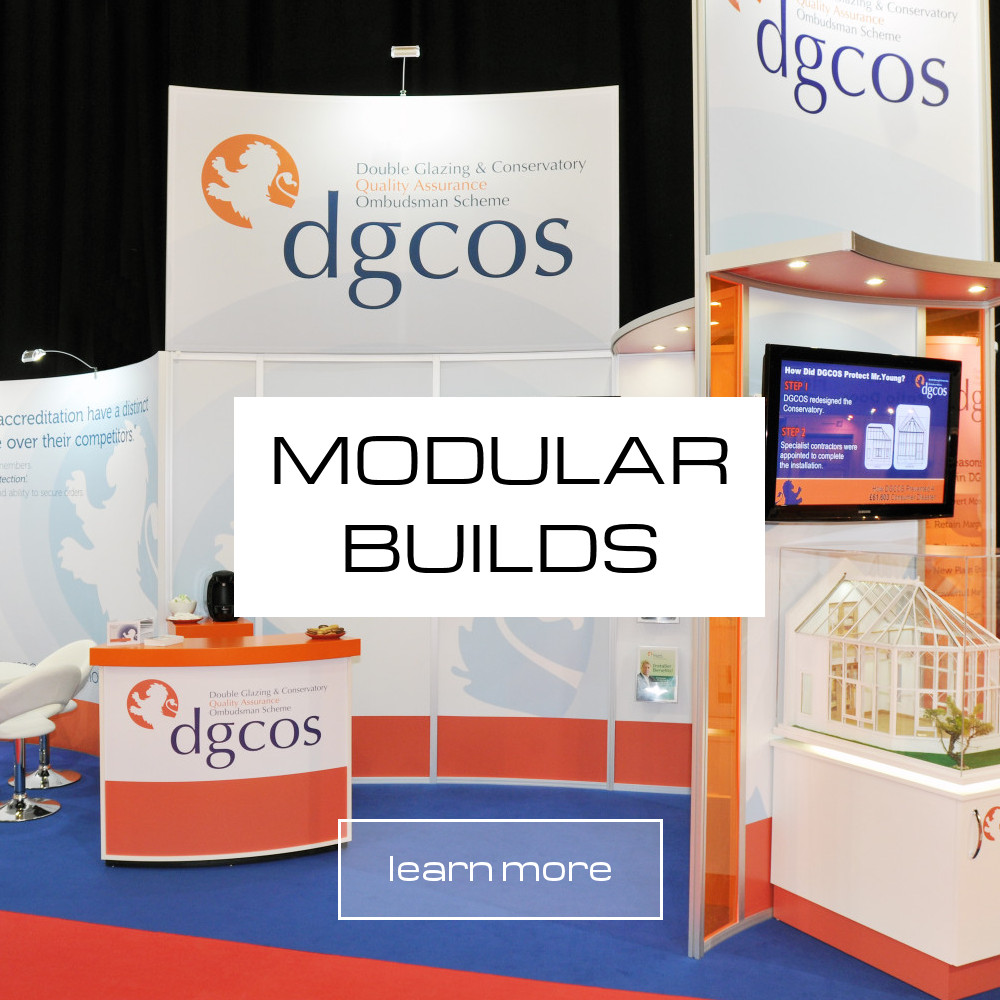 modular exhibition stand builds