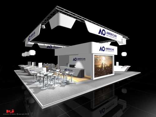 kj-portfolio-american-orthodontics-bespoke-exhibtion-stand-with-seating