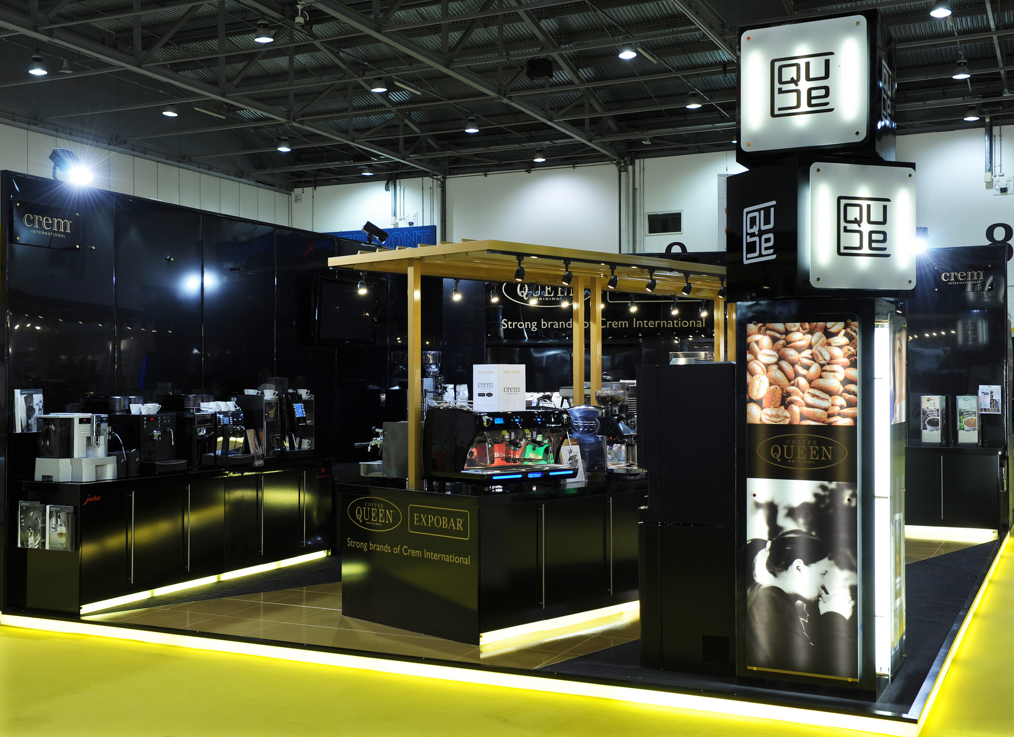 Exhibition Stand Coffee : Bespoke exhibition stands ⋆ kj exhibition display
